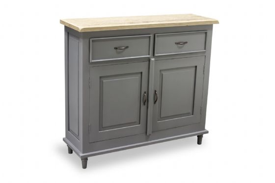 Polruan Grey Slim Sideboard